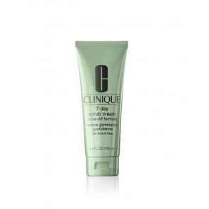 Clinique 7 DAY SCRUB CREAM RINSE-OFF FORMULA Exfoliante facial 100 ml