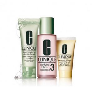 Clinique Kit de Iniciación al sistema de 3 Pasos Skin Type 3 piel grasa