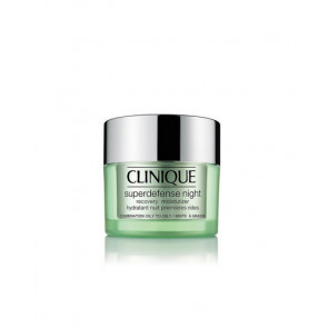 Clinique SUPERDEFENSE NIGHT Recovery Moisturizer PMG Crema Hidratante Piel Mixta o Grasa 50 ml