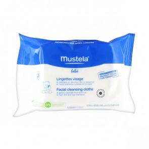 Mustela BEBE Facial cleansing cloths 25 Units