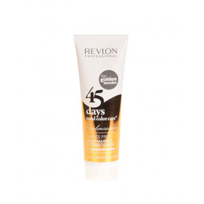 Revlon 45 DAYS 2in1 Shampoo & Conditioner For Golden Blondes Champú y Acondicionador Cabellos Teñidos 275 ml