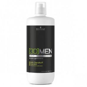 Schwarzkopf 3D MEN Anti-Dandruff Shampoo 1000 ml