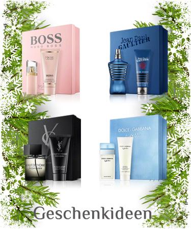 Parfums Sets für Weihnachten